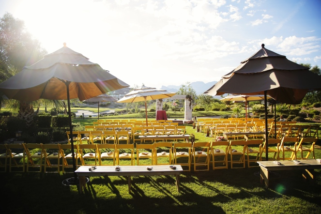 Red Rock Country Club Wedding by When Pigs Fly Events and Layers of Lovely Floral Design