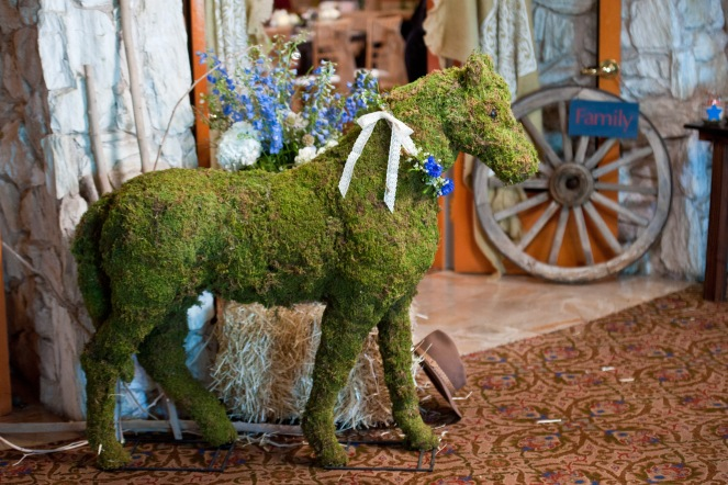 Moss horse by Layers of Lovely Floral Design