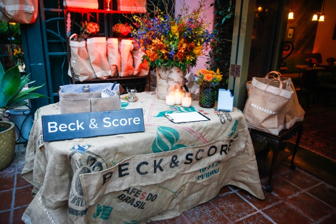 Beck & Score at 41 Ocean