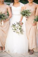 Olive and anemone bouquets