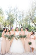 Olive and anemone wedding in Las vegas