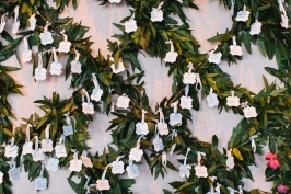 Lattice escort card display