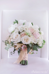 Las Vegas wedding at the Springs Preserve featuring Layers of Lovely Floral Design, Chelsea Nicole Photography and Scheme Events. Blush, ivory and gold wedding.