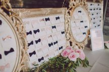 Blush white and gold vintage garden inspired wedding at St. Francis of Assisi and Dragon Ridge Country Club. Scheme Events, Layers of Lovely Floral Design and Ostara Photography. Paper by She Paperie
