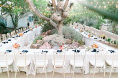 Las Vegas summer wedding at the Springs Preserve. Florals by Layers of Lovely, Photography by J. Anne Photography, Coordination by Green Orchid Events.