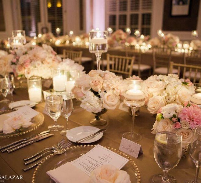 Four Seasons Las Vegas Wedding Florals By Layers Of Lovely Coordination Green Orchid
